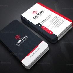 Modern Vertical Business Card Template