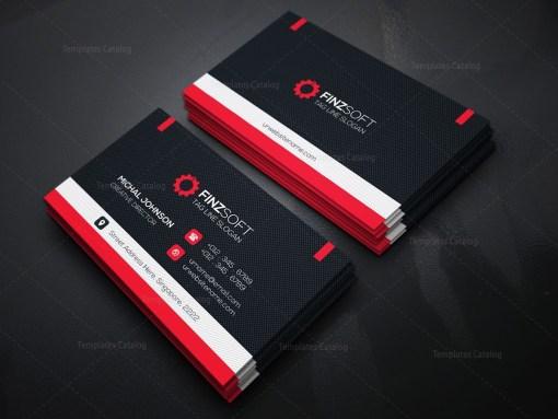 Sleek Business Card Template