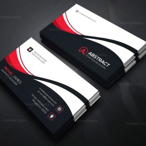 Wave Corporate Business Card Template