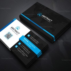 World Business Card Template