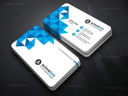 clean-white business card template