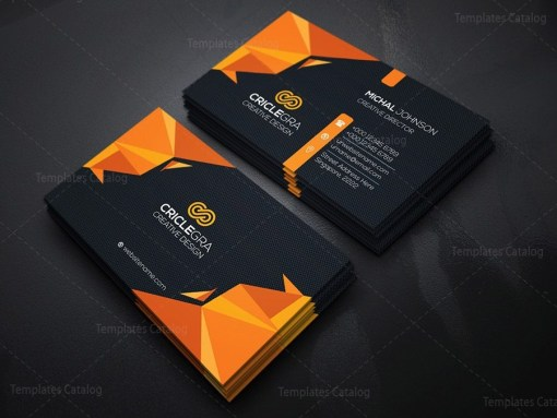 Dark Corporation Business Card