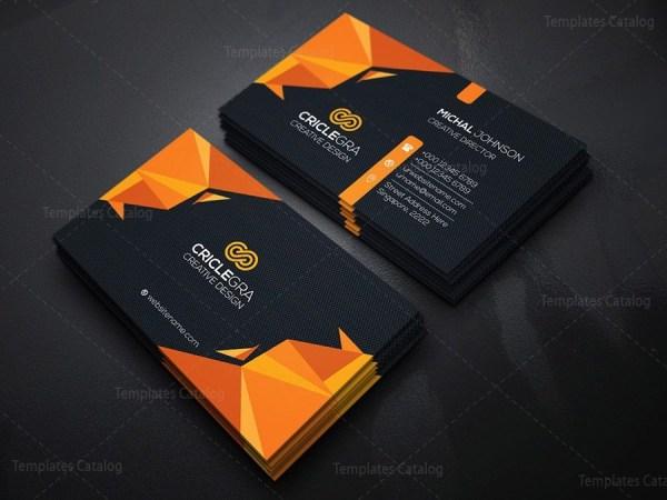 Dark Corporation Business Card