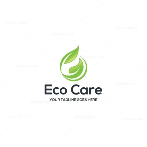 Eco Care Corporate Logo Template