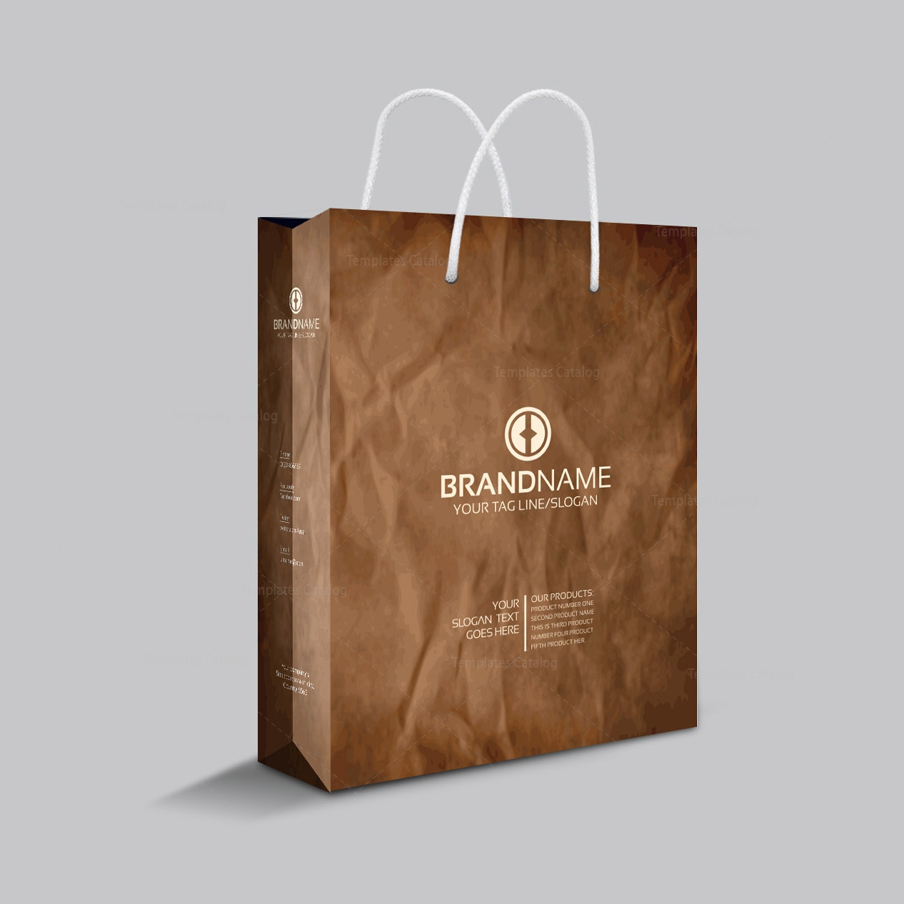 Recycle Shopping Bag Template