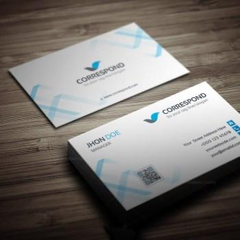 Correspond Business Card Template