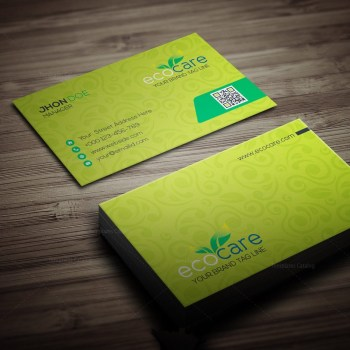 Ecocare Business Card Template