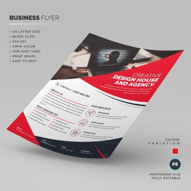 Elegant Business Flyer