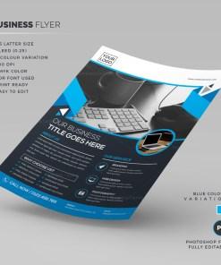 PSD Business Flyer template