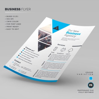 Print Ready Corporate Flyer