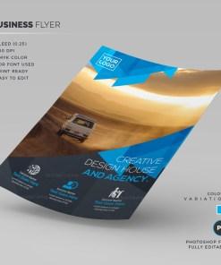 Safari Corporate Flyer Template