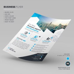Stylish Corporate Flyer Template