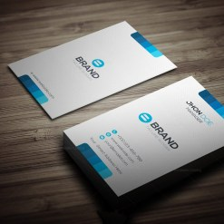 Horizontal Vertical Business Card Template