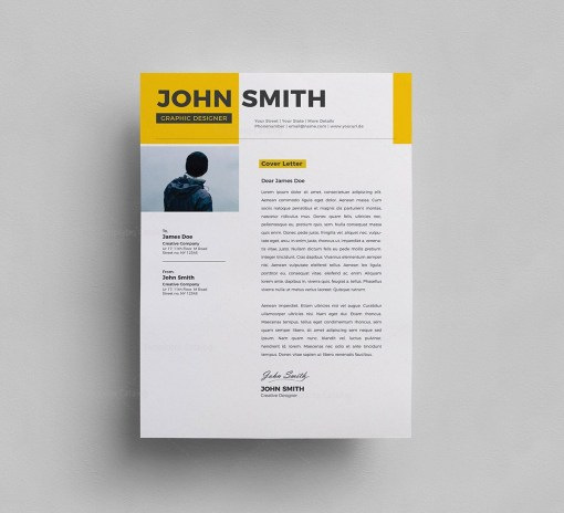 PSD Resume Template