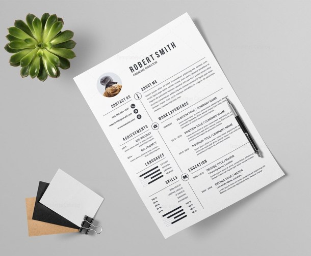 Resume Template with Coverletter