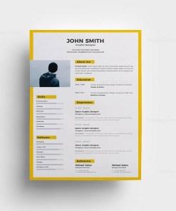 Sleek Resume Template