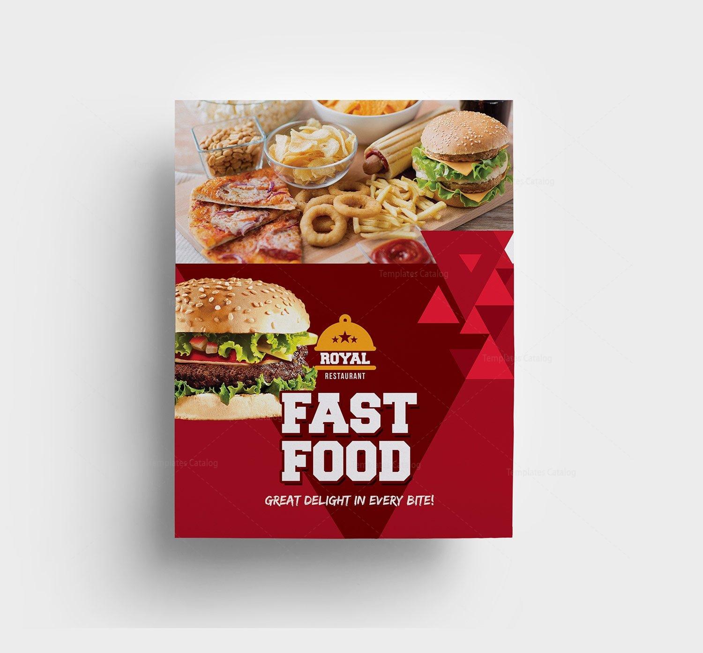 Premium Food Menu Template