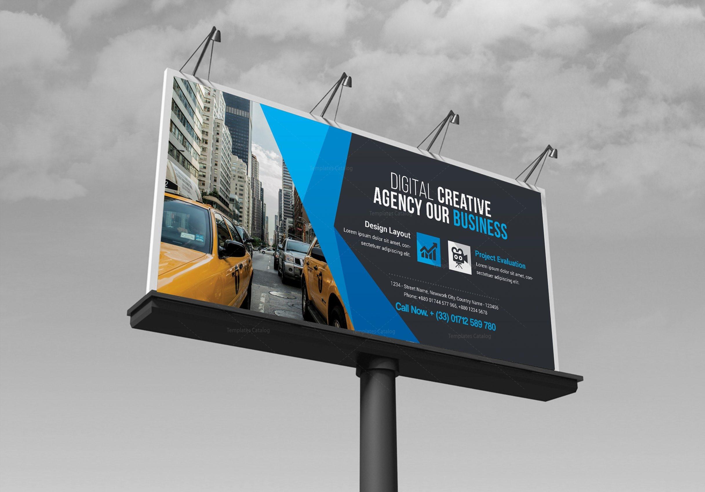 Business Billboard Banner Template 000352