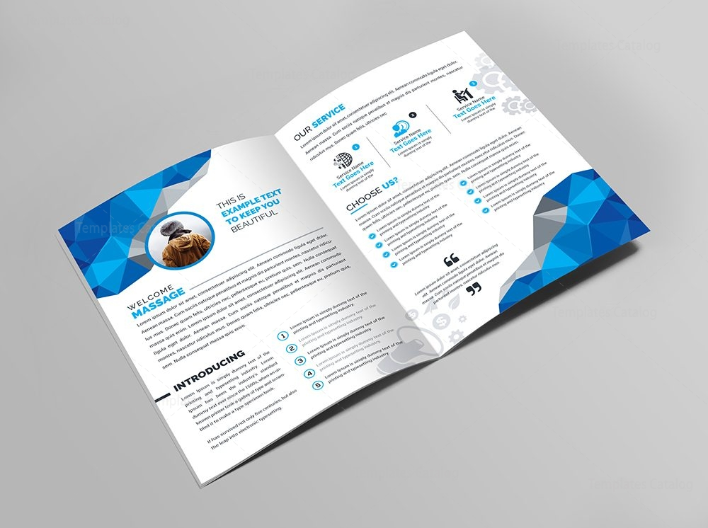 Medical Bifold Brochure Template 000438 Template Catalog