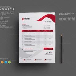 Modern Invoice Templates