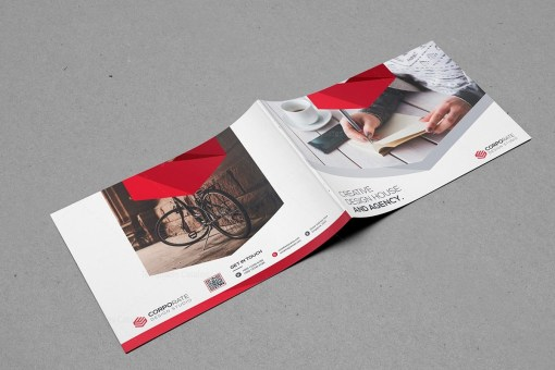Professional Landscape Brochure Template