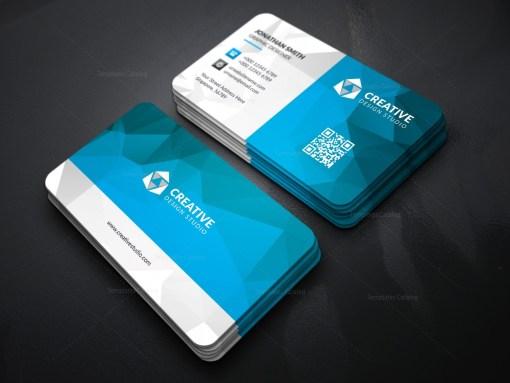 Technology Business Card Template