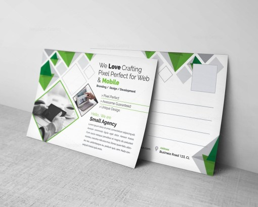 Agency Postcard Template