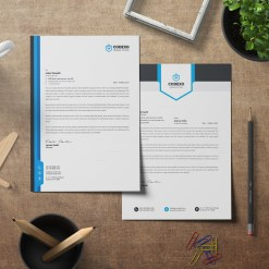 Letterhead Stationery Template Bundle