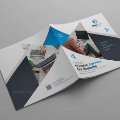 Modern Stylish Corporate Bi-Fold Template