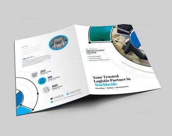 Premium Presentation Folder Design