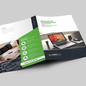 Presentation Folder Template with Classic Design