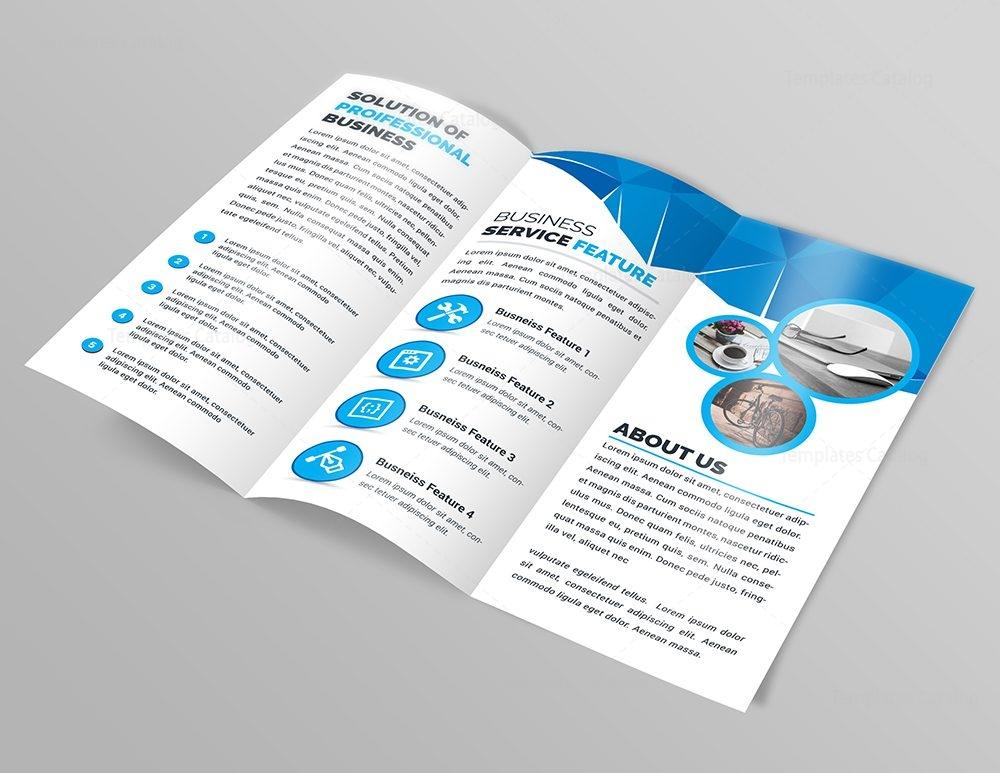 Athena Modern Tri-Fold Brochure Template