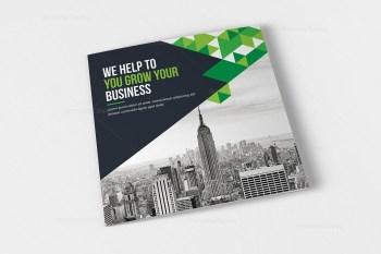 Atlas Corporate Tri-Fold Brochure Template