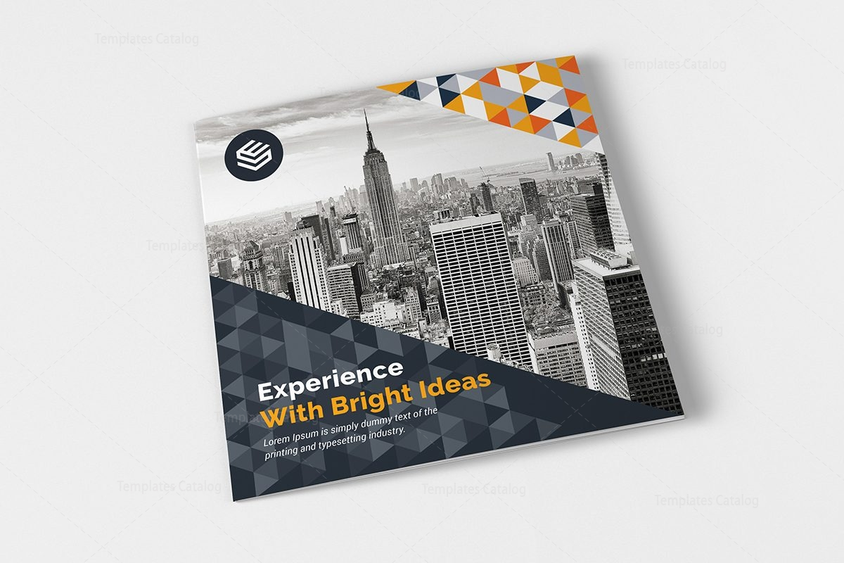 Canopus Corporate Tri-Fold Brochure Design Template