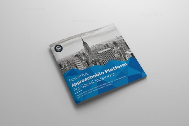 Classy Corporate Bi-Fold Brochure Template