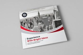 Cosmos Corporate Tri-Fold Brochure Template