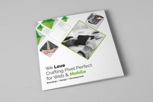 Eclipse Modern Tri-Fold Brochure Template