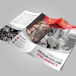 Elegant Tri-Fold Brochure Template with Modern Design