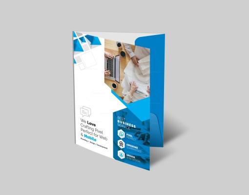 Excellent Presentation Folder Template