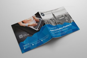 Excellent Square Corporate Brochure Template