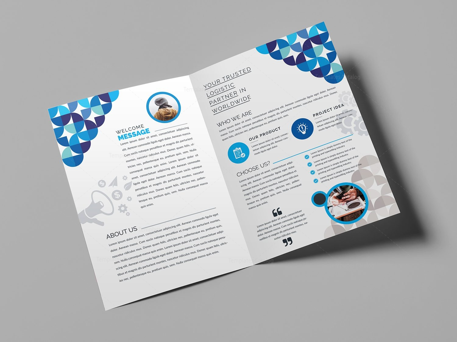 Bi Fold Brochure Templates Ideal Vistalist Co