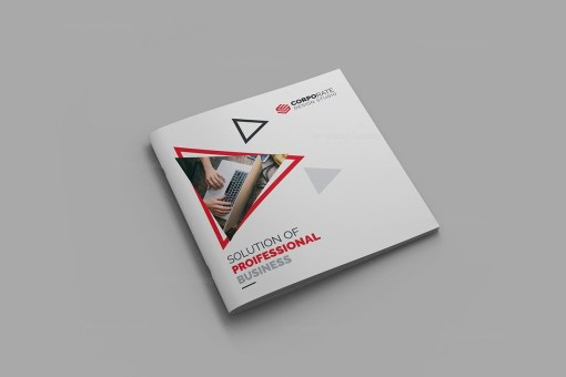 High Quality Square Brochure Template