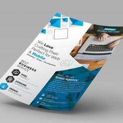 Jupiter Corporate Flyer Template