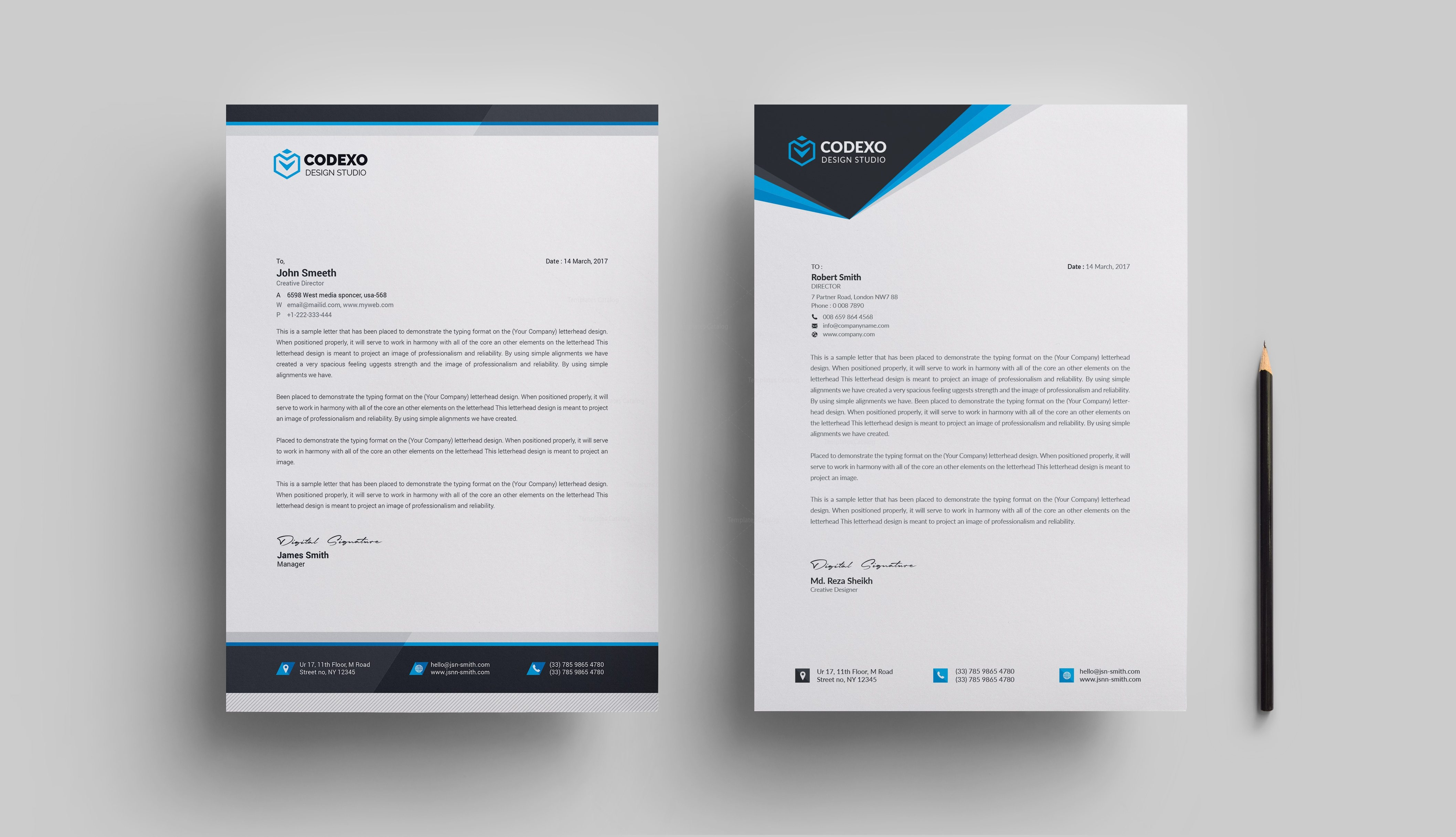 letterhead design templates 000610