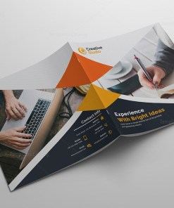 Modern Creative Corporate Bi-Fold Brochure Template