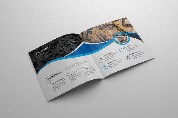 Technology Company Brochure Template 2 - Catalog