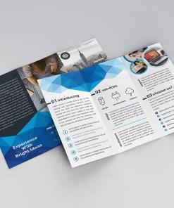 Thor Elegant Tri-Fold Brochure Template