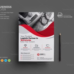 Uranus Corporate Flyer Template