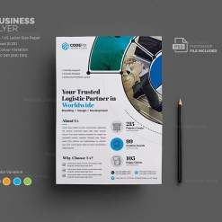 Venus Corporate Flyer Template