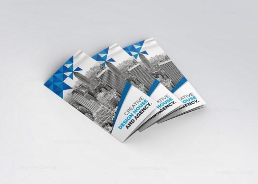 Zeus Modern Tri-Fold Brochure Template